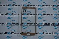 Стекло корпуса для мобильного телефона Samsung Galaxy S6 золотое