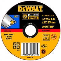 Круг отрезной по металлу INOX DeWALT DT43341 (США/Польша)