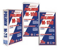 Раствор строительный М-100, (25 кг), ПОЛИМИН