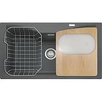 Кухонная мойка Franke Acquario Line AEG 610 (114.0185.316) графит 86х50х22,6