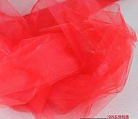 Фатин 3 х 1 метр, красный
