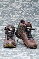 Ботинки Коричневые Кожаные Крейзи, фото 1