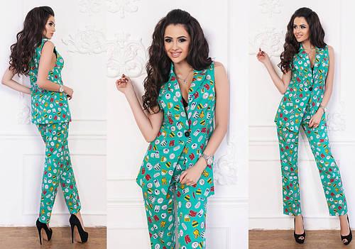 6d98bc0c046 Костюмы женские с брюками - купить в Украине по лучшим ценам от