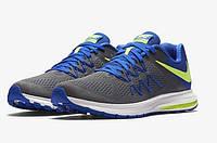 Кроссовки мужские Nike Air Zoom Winflo 3 grey-blue