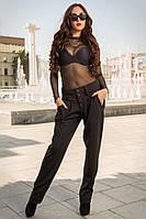 Женские чёрные брюки Apple