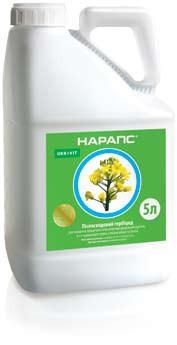 Гербицид Нарапс (Галера 334), Укравит; клопиралид 267 г/л + пиклорам 67 г/л, горчица, рапс