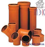 Труба ПВХ 160х4,0х1000 мм, наружная канализация