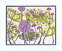 ВТ-130 Набор для вышивания крестом Crystal Art Солнечное соцветие