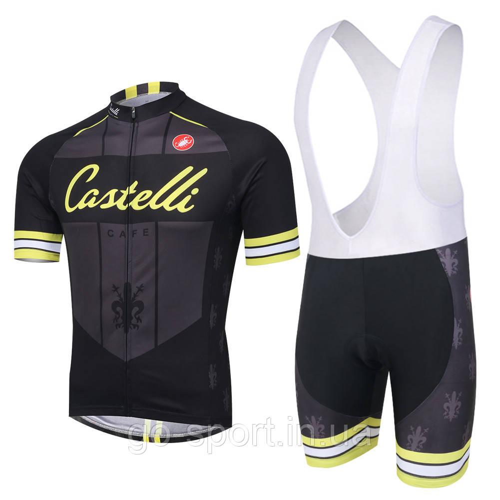 Велоформа Castelli 2016 bib v2