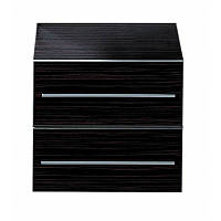 Шкафчик низкий 2 ящика Laufen-PALOMBA (макассар) (2022.4.525)