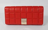 Кошелек женский кожаный Chanel 514 красный, расцветки