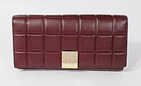 Кошелек женский кожаный Chanel 514 марсала, расцветки