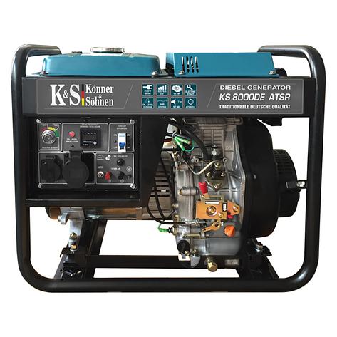 Дизельный генератор Könner & Söhnen KS 8000DE ATSR , фото 2