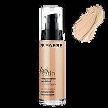 Тональный крем для лица Lush Satin (30) Фарфоровый Paese