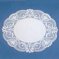Ажурная салфетка под торт круглые D26cм (код 02645)