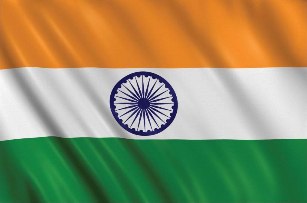 Национальный флаг Индии 90х150см