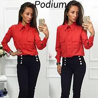 Женская рубашка с длинным рукавом (арт. 2240555351)