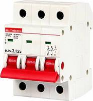 Выключатель нагрузки на DIN-рейку e.is.3.125, 3р.125А.