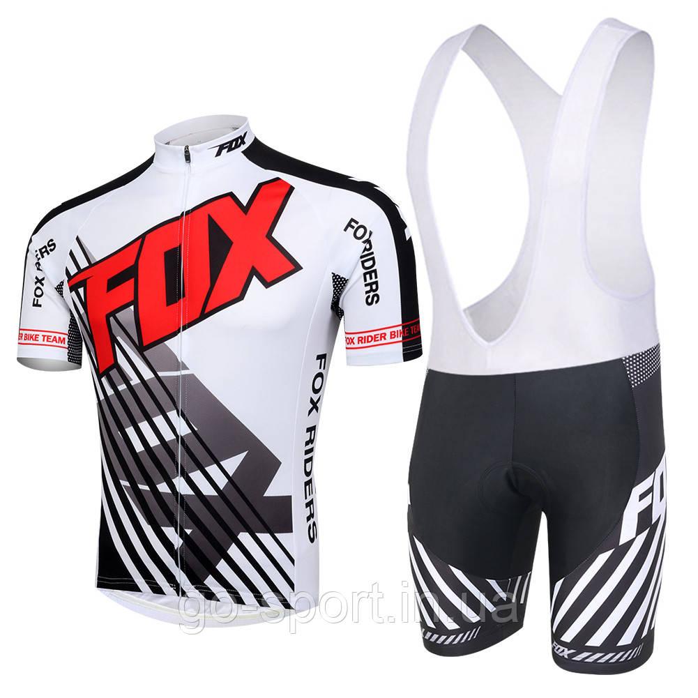 Велоформа FOX 2016  bib v1