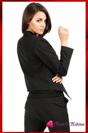 ПИДЖАК КАРДИГАН ЖЕНСКИЙ =Style= цвет черный S//М, фото 2