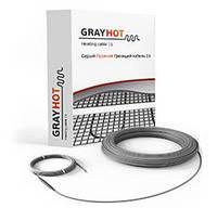 Теплый пол электрический-Двужильный нагревательный кабель GrayHot - 15-129 Вт/м