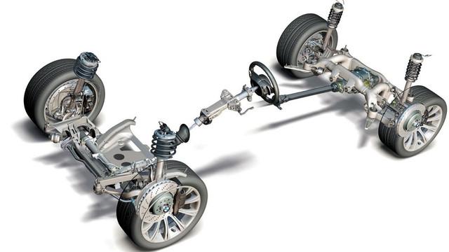Детали подвески и управления Toyota