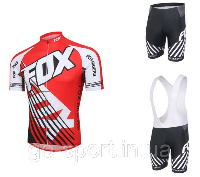 Велоформа FOX 2016  bib v2