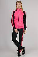 Трикотажный спортивный костюм New Sport (розовый).