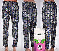 Женские лёгкие штаны Tianlefu 03 C-5XL 44-46-R