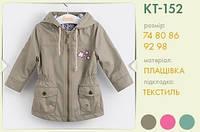 Куртка для девочки КТ152 тм Бемби