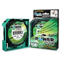 Шнур Power Pro 0.1  зеленый