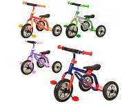 Детский трехколесный велосипед для малышей