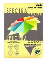 Бумага цветн.А4 80м/г2 160 паст.жовт SPECTRA COLOR 500л.