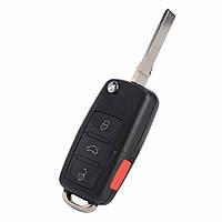 Выкидной ключ AUDI A8 (корпус) 3+1 кнопки