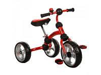 Детский трехколесный велосипед с рамой