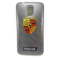 Силикон TPU Samsung S5 Porsche чёрный