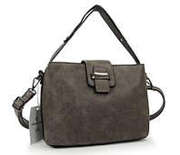 Стильная женская сумочка B7036 GREY