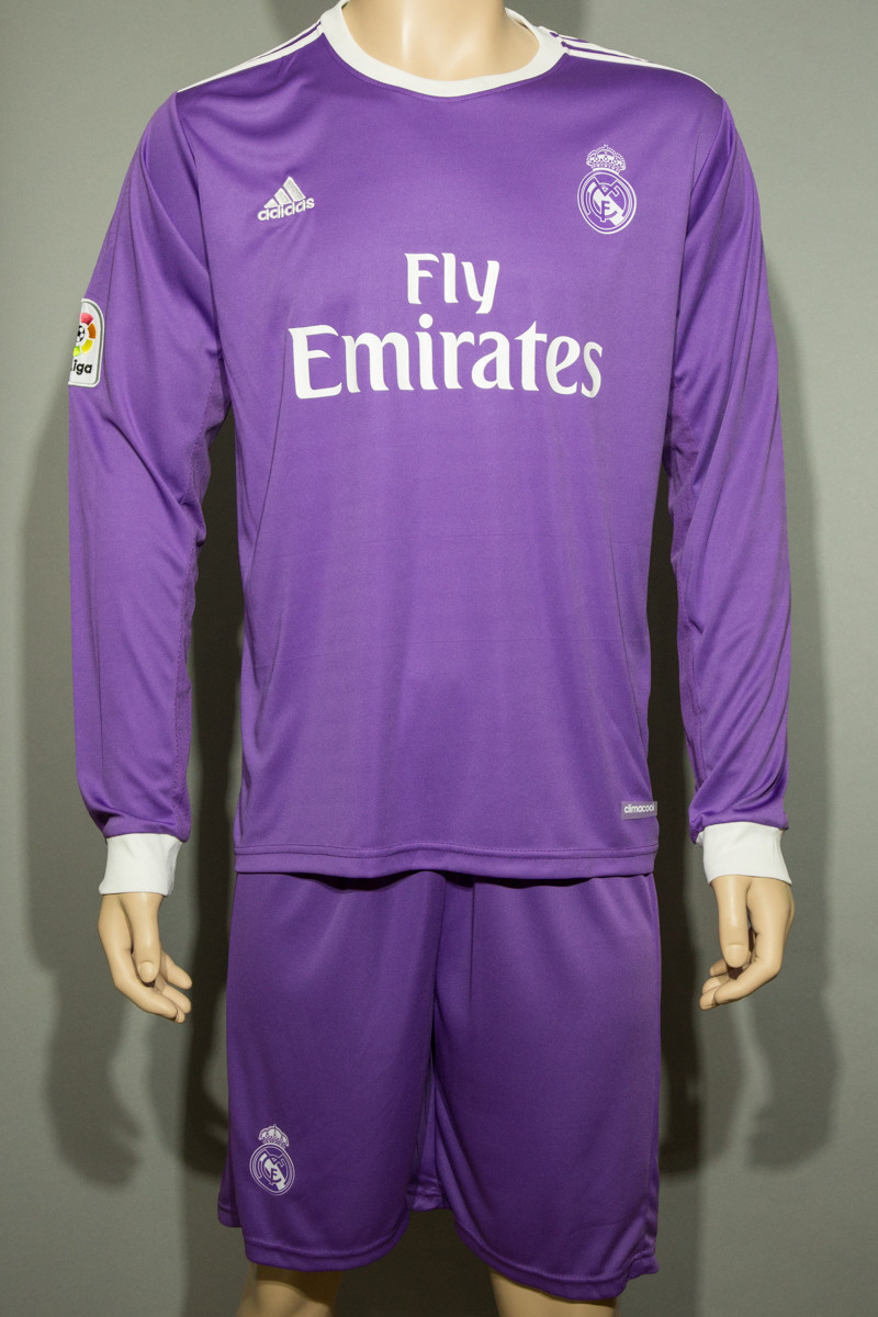 f54d52aa Футбольная форма 2016-2017 Реал Мадрид (Real Madrid), Adidas, длинный рукав