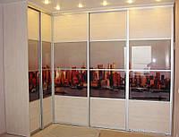 Угловые шкафы купе на заказ, фото 1
