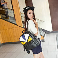 Стильный рюкзак с глазками, фото 1