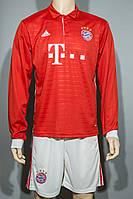 Футбольная форма 2016-2017 Бавария (Bayern) длинный рукав домашняя