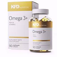 KFD Nutrition Omega 3 - 90 капс.рыбий жир в капсулах Омега-3, омега-6, омега-9