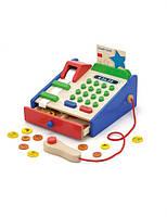 Деревяная игрушка viga toys детский кассовый аппарат (59692)