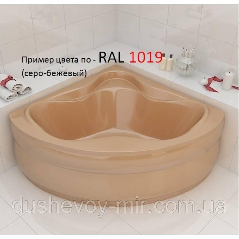 Ванна Artel Plast Злата серо-бежевый цвет 136х136х47