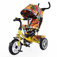 Велосипед трехколесный TILLY Trike T-351-7 золотой
