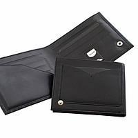 Кожаны мужской кошелек ТМ BOND  818-356 (черный)