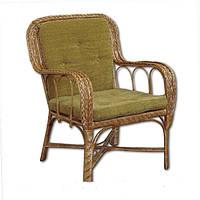 Кресло плетенное из лозы КО 8