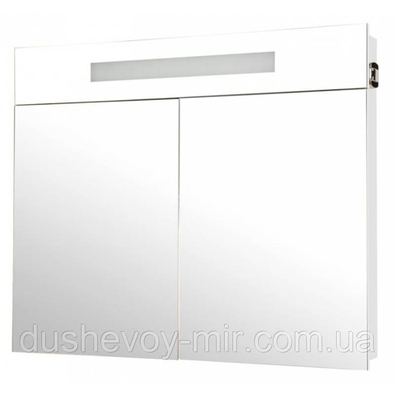 """Галерея """"Ника"""" (белый цвет) 95 см с подсветкой"""