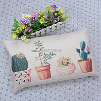 "Декоративная наволочка на подушку ""Cactus"""