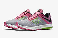 Женские кроссовки Nike Air Zoom Winflo 3 grey-pink